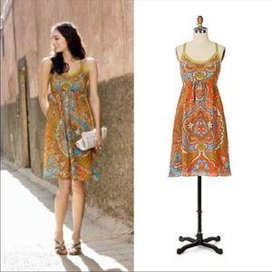 Moulinette Soeurs silk paisley ANTHRO dress